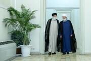 روحانی چرا بعد از پیروزی رئیسی به دیدار او رفت؟