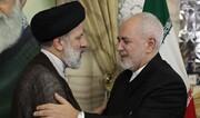 ظریف به رئیسی تبریک گفت