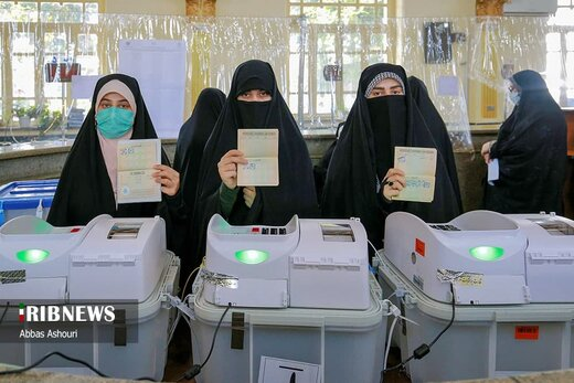 جشن انتخابات ۱۴۰۰ - رشت
