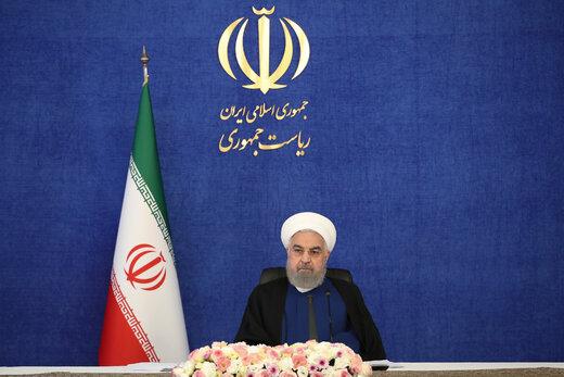 افتتاح طرح های گاز و پتروشیمی وزارت نفت با حضور روحانی
