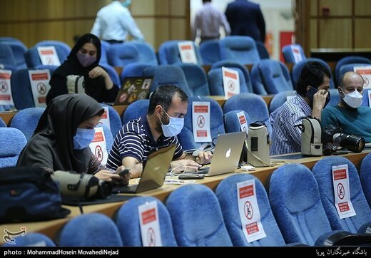 در حاشیه حضور خبرنگاران در ستاد انتخابات کشور