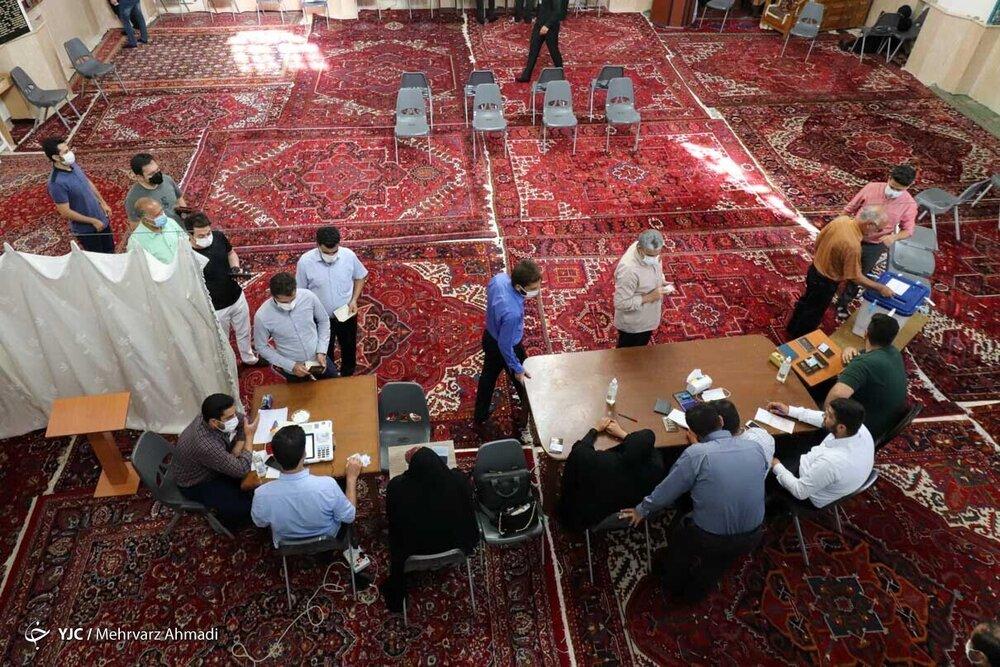 میزان مشارکت در قزوین، اصفهان، گلستان و چهارمحال و بختیاری چند درصد بود؟