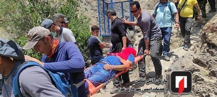 کشف جسد مرد میانسال در ارتفاعات درکه/ تصاویر