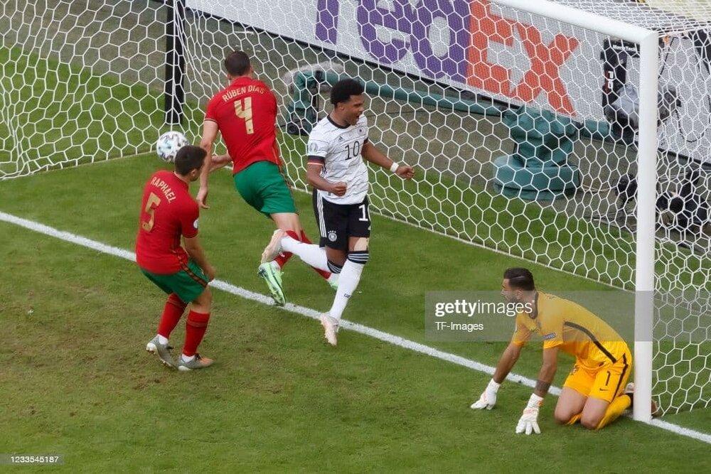 آلمانها پرتغال را له کردند /عکس