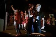 ببینید | جشن قهرمانی هواداران پرسپولیس مقابل اتوبوس تیم