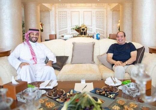 جزئیات دیدار بن سلمان و السیسی لو رفت