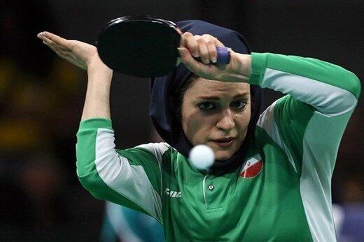 پینگپنگباز زن ایران و رد یک شایعه عجیب کرونایی!