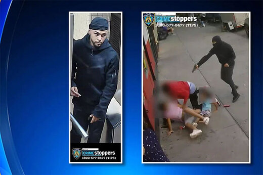 ببینید | گرفتاری غمانگیز دو کودک بیگناه در صحنه تیراندازی تبهکاران