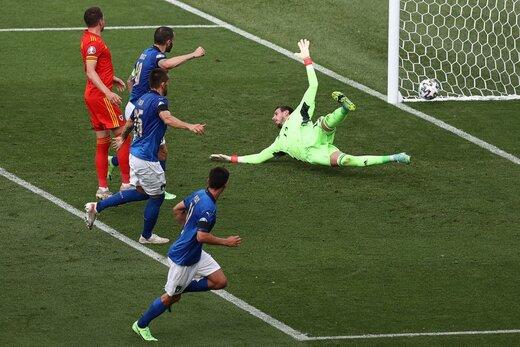 ایتالیا به ولز هم رحم نکرد