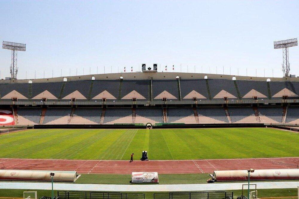 ورزشگاه آزادی در آستانه سوپرجام/عکس
