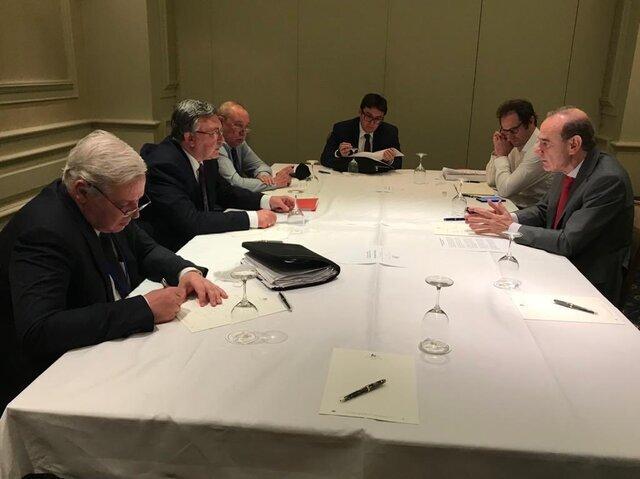 تصویر از دیدار برجامی نمایندگان روسیه و اتحادیه اروپا در مذاکرات وین