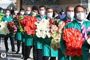 تصاویر | گلآرایی ضریح منور رضوی به مناسبت دهه کرامت
