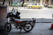 ببینید | سرقت باورنکردنی و عجیب موتورسیکلت توسط یک بچه