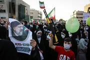 ببینید | شعارهای توهینآمیز به دولت روحانی در حضور زاکانی