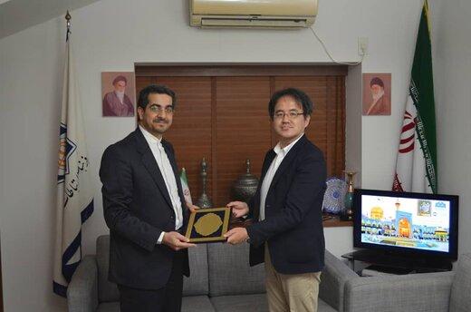 ایرانشناسِ ژاپنی، محقق نمونه فرهنگ رضوی شد