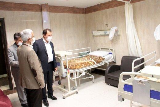 استفاده از ظرفیت بیمارستان امام خمینی کرج برای خدماتدهی به ایثارگران