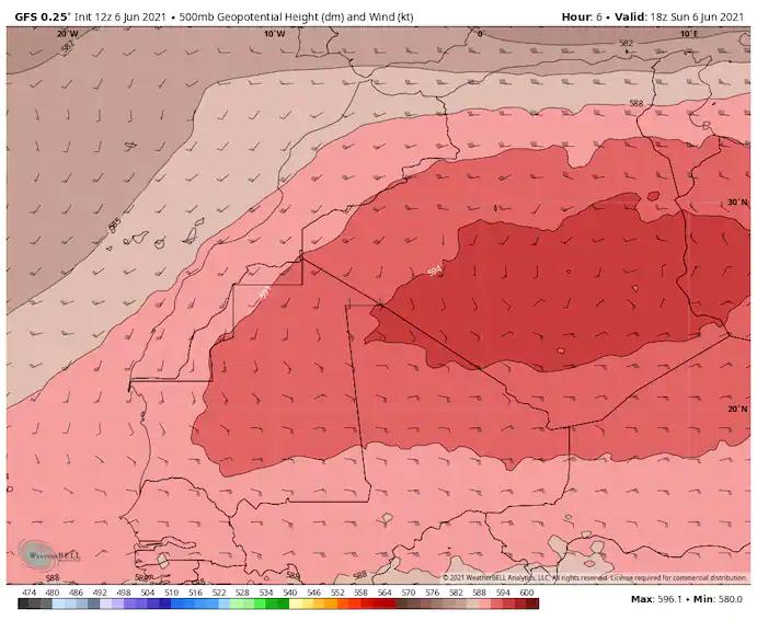 گزارش ناسا از گرما در منطقه/ خاورمیانه درگیر با «خشنترین موج گرمایی تاریخ»