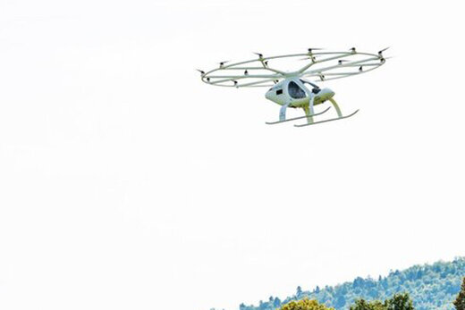 ببینید |  اولین تاکسی پرنده در فرانسه به پرواز درآمد