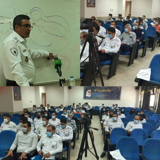 برگزاری کارگاه ۴۲۷ مرکز اورژانس ۱۱۵ لرستان در خرمآباد