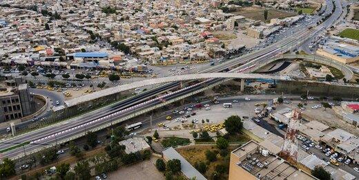 پل اصلی تقاطع شهید همدانی افتتاح شد
