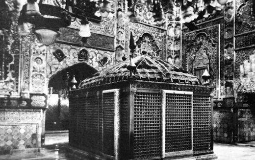 تصاویری از حرم امام رضا(ع) در دوران قاجار