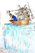 ببینید: جنگ قدرت در قایق استقلالیها!