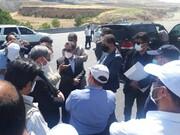 بازدید معاون وزیر راه از آزادراه خرم آباد - اراک/ پیشرفت ۹۶ درصدی تونل ها