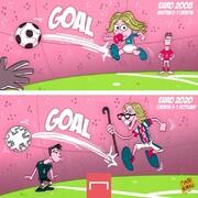 ببیید: جوانترین و مسنترین گلزن کرواسی در جام ملتها!