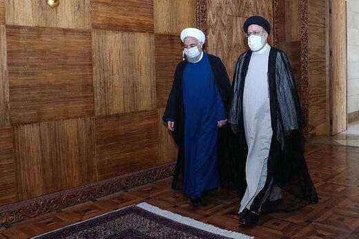 تصاویر | دومین دیدار روحانی با رییس جمهور منتخب