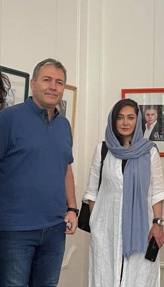عکس | نیکی کریمی کنار سرمربی تیم ملی