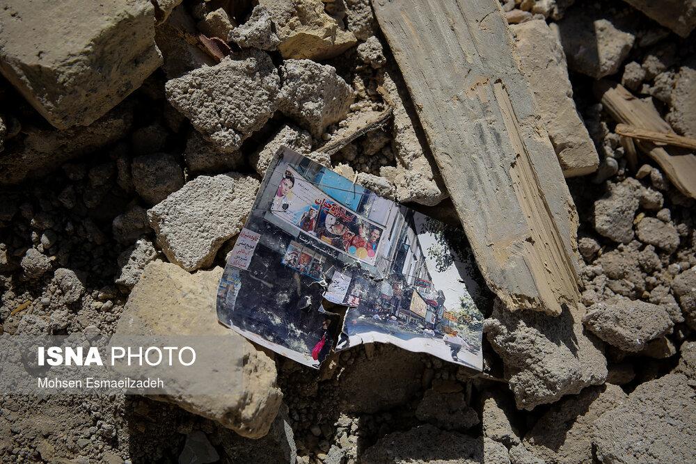 تصاویری دردناک از تخریب دو سینمای قدیمی در مشهد/ عکس