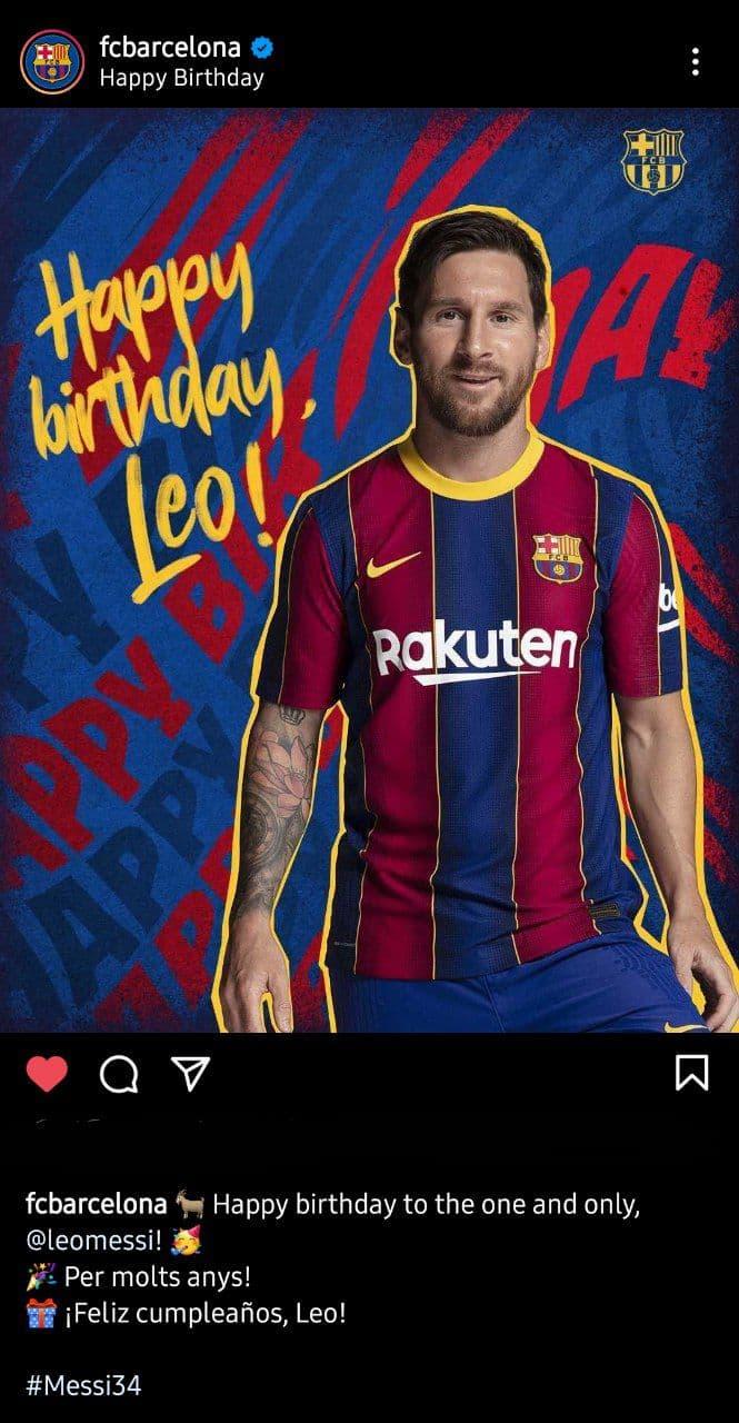 تولد مسی و هوادارانی که خوشحال نیستند/عکس