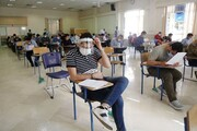برگزاری آزمون سراسری با رعایت پروتکلهای بهداشتی