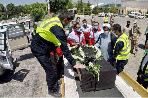 ببینید | بازگشت پیکرهای ریحانه یاسینی و مهشاد کریمی به تهران