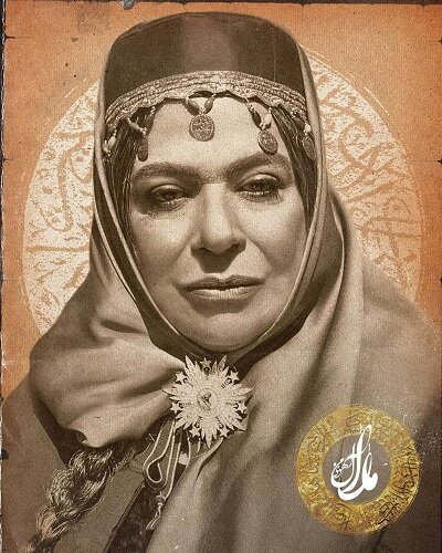 گوهر خیراندیش، نقش زنِ ناصرالدینشاه را در سریال «آهوی من مارال»، بازی میکند/ عکس