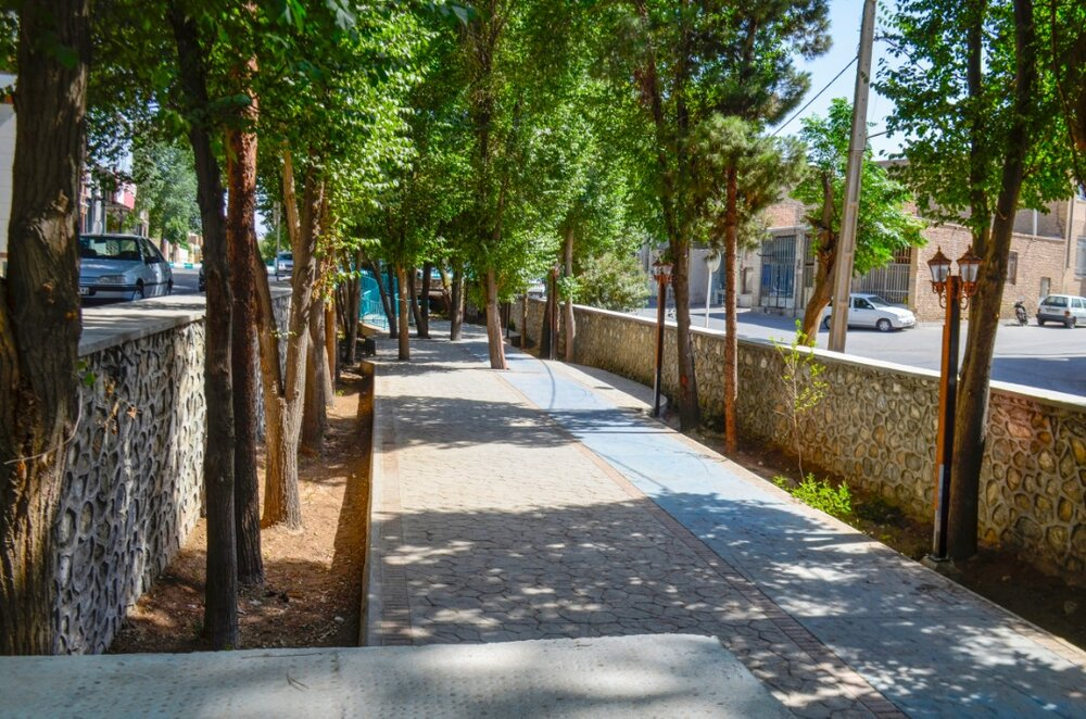 تصاویری از بازسازی رودخانه مرکزی شهر یزد برای فعالیت های ورزشی و تفریحی