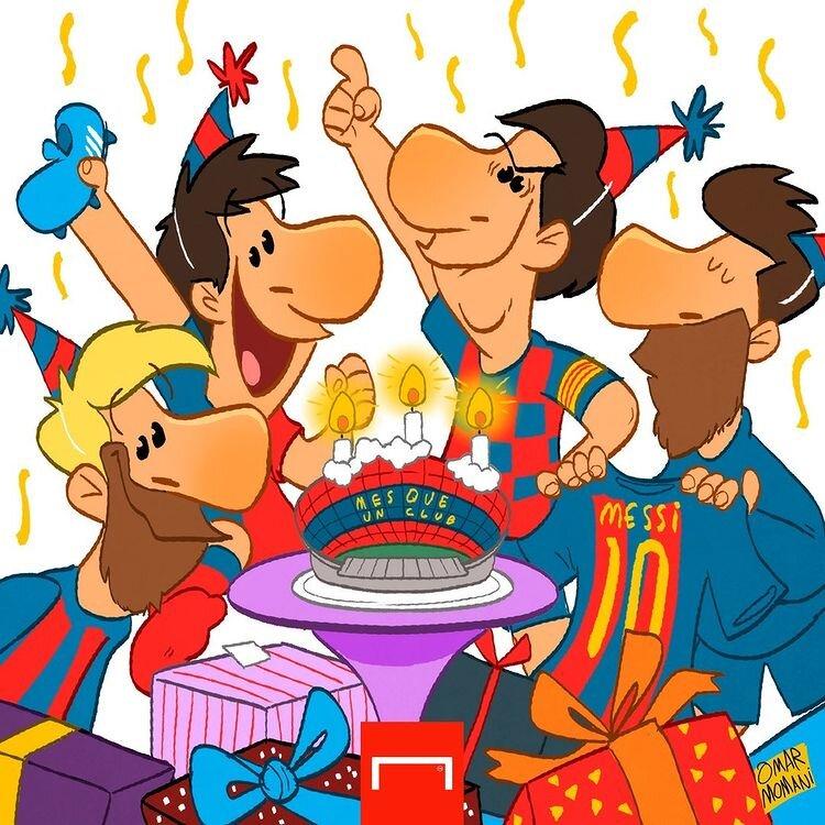 آقای مسی تولدت مبارک!