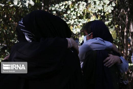 تشییع پیکر خبرنگاران فقید ایرنا و ایسنا