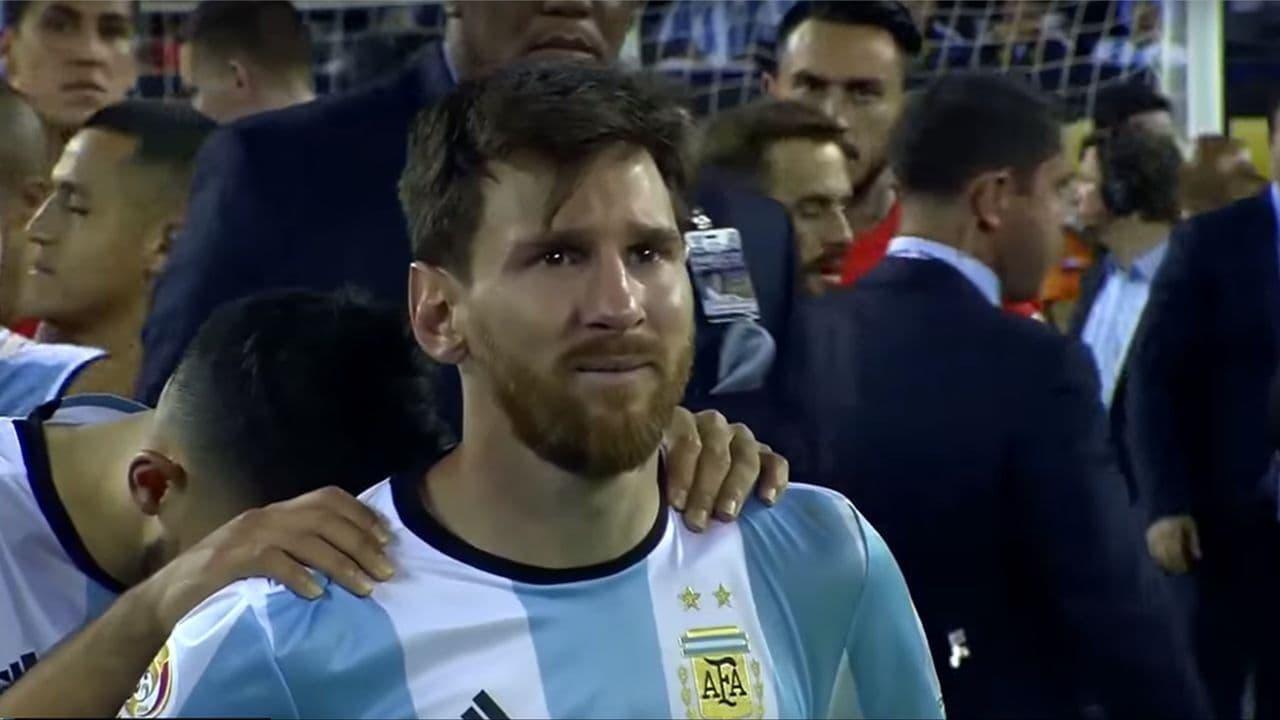 5 سال از اشکهای لیونل مسی گذشت/عکس