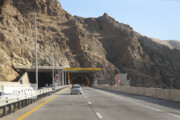 ببینید | رونمایی از زمان افتتاح تونل ۶.۵ کیلومتری قطعه دوم آزادراه تهران - شمال