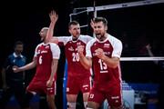 حذف غیرمنتظره لهستان از والیبال المپیک