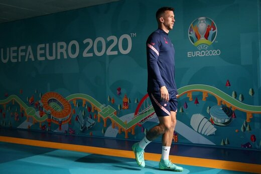 شوک به ستاره کرواسی در آستانه بازی با اسپانیا