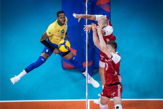 برزیل فاتح لیگملتهای والیبال 2021 شد