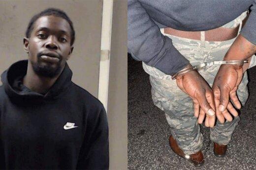ببینید | لحظه دستگیری قاتل پلیس در دیتونا توسط نیروهای امنیتی