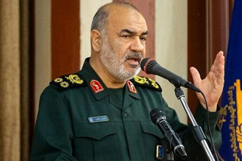 فرمانده کل سپاه: منتظر یک اشتباه از اسرائیلی ها هستیم تا نابودشان کنیم