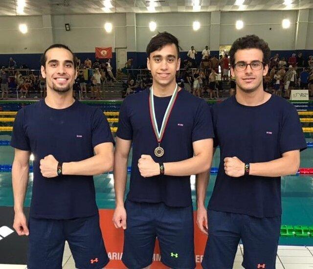 رکوردشکنی شناگران ایران در انتخابی المپیک بلغارستان