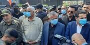 تشییع شهدای الحشد الشعبی با شعار مرگ بر آمریکا و مرگ بر اسرائیل/عکس