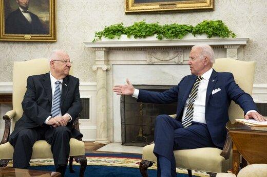 بایدن به رئیس اسرائیل درباره برجام وعده داد