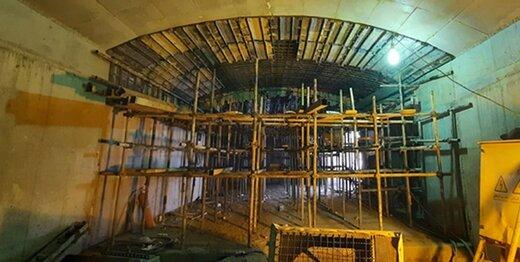 تکمیل احداث دسترسی شرقی چهارراه گلوبندک به ایستگاه متروی ۱۵خرداد