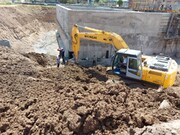 احداث ساختمان ابنیه مدول دوم تصفیه خانه فاضلاب شهرک صنعتی اردبیل(۲) در مراحل پایانی خود قراردارد